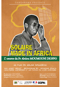 "Mercredi 6 juin Projection CJV  La Roseraie ""Solaire Made in Africa"""