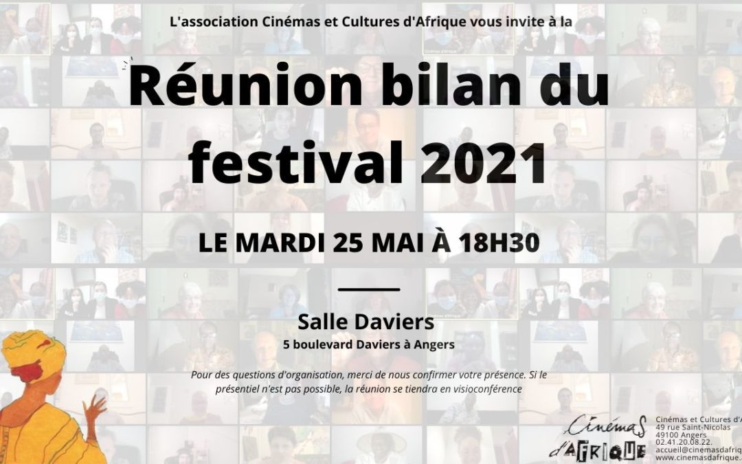 Assemblée générale – bilan du festival 2021